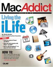 Cover of: MacAddict guide to living the iLife | Shelly Brisbin