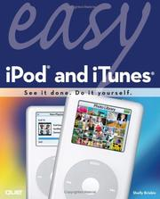Cover of: Easy iPod and iTunes (Easy) | Shelly Brisbin