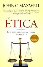 Cover of: Etica/ethics | John C. Maxwell