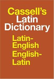 Cover of: Cassell's Latin Dictionary | D. P. Simpson