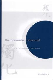 Cover of: The Penumbra Unbound by Brook Ziporyn