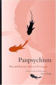 Cover of: Panpsychism | D. S. Clarke