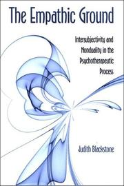Cover of: The Empathic Ground | Judith Blackstone