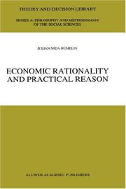 Cover of: Economic rationality and practical reason | Julian Nida-Rümelin