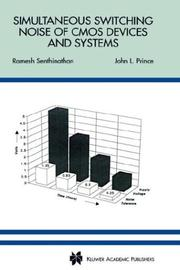 Cover of: Simultaneous switching noise of CMOS devices and systems by Ramesh Senthinathan
