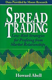 Cover of: Spread trading | Howard Abell