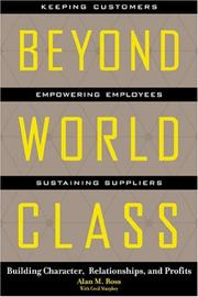 Cover of: Beyond World Class by Alan Ross