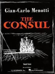 Cover of: The Consul by Gian-Carlo Menotti