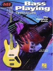 Cover of: Bass Playing Techniques | Alexis Sklarevski