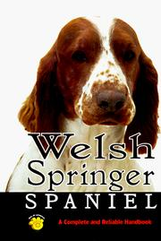 Cover of: Welsh Springer Spaniel | Linda S. Brennan