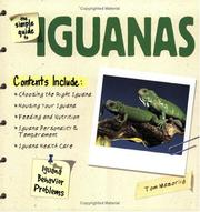 Cover of: The Simple Guide to Iguanas (Simple Guide to...) | Tom Mazorlig