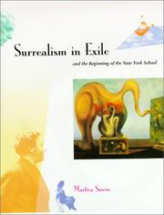 Cover of: Surrealism in exile and the beginning of the New York school | Martica Sawin