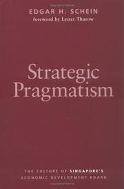 Cover of: Strategic Pragmatism | Edgar C. Schein