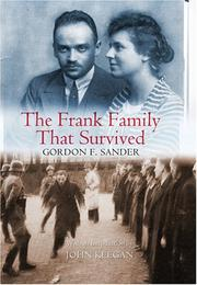 Cover of: The Frank Family That Survived by Gordon F. Sander