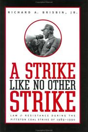 Cover of: A Strike like No Other Strike | Richard A., Jr. Brisbin