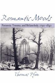 Cover of: Romantic moods | Thomas Pfau