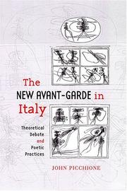 Cover of: The new avant-garde in Italy by John Picchione
