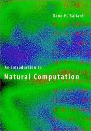 Cover of: An Introduction to Natural Computation (Complex Adaptive Systems) | Dana H. Ballard