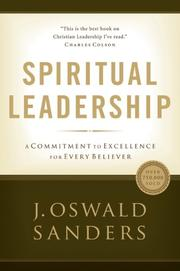 Cover of: Spiritual Leadership by J.Oswald Sanders