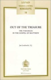 Cover of: Out of the Treasure | Jan Lambrecht