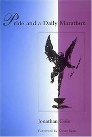 Cover of: Pride and a daily marathon | Jonathan Cole