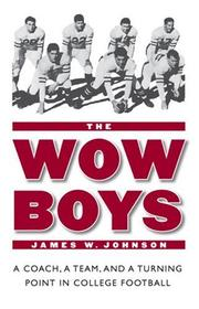 Cover of: The Wow Boys by James W. Johnson
