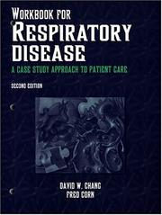 Cover of: Workbook for Respiratory Disease | David W. Chang