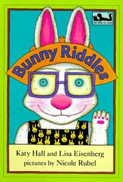 Cover of: Bunny riddles | Katy Hall, Katy Hall