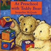At preschool with Teddy Bear