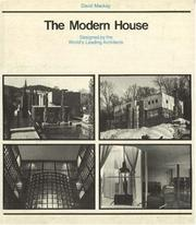 Cover of: The modern house by Mackay, David