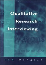 Cover of: Qualitative research interviewing | Tom Wengraf