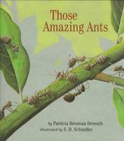 Cover of: Those amazing ants | Patricia Demuth