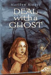 Cover of: Deal with a ghost | Marilyn Singer