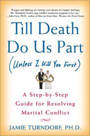Cover of: Till death do us part (unless I kill you first) | Jamie Turndorf