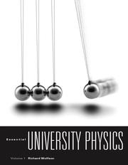 Cover of: Essential University Physics with MasteringPhysics by Richard Wolfson