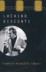 Cover of: Luchino Visconti | Claretta Tonetti