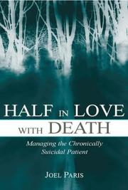 Cover of: Half in Love With Death by Joel Paris