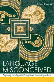 Cover of: Language Misconceived | Karol Janicki
