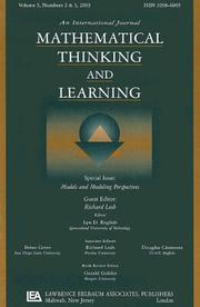 Cover of: Models and Modeling Perspectives | Richard A. Lesh