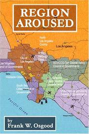 Cover of: Region aroused by Frank W. Osgood