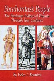 Cover of: Pocahontas's People by Helen C. Rountree