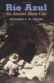 Cover of: Río Azul by Richard E. W. Adams