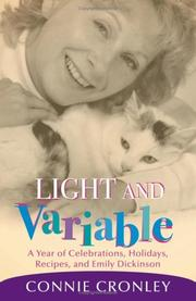 Cover of: Light And Variable | Connie Cronley