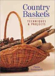 Cover of: Country baskets | Paola Romanelli