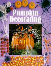Cover of: Pumpkin decorating | Vicki Rhodes