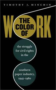 Cover of: The Color of Work | Timothy J. Minchin