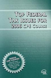 Top federal tax issues for 2012 2011 edition open library top federal tax issues for 2006 cpe course fandeluxe Images
