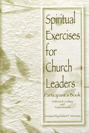 Cover of: Spiritual Exercises for Church Leaders (Participant's Book) | Robert F. Morneau
