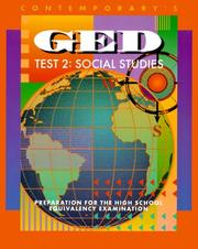 Cover of: Contemporary's GED test 2 | Karen Scott Gibbons