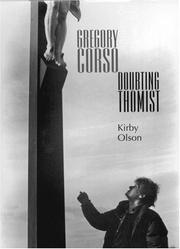 Cover of: Gregory Corso by Kirby Olson